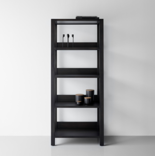 Unison Pewter Small Bookcase