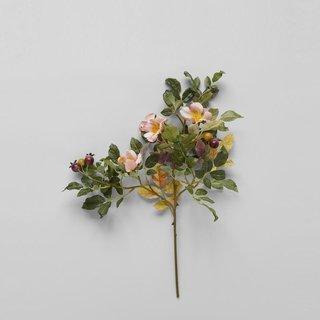 """Bloomist EcoFaux Heirloom Rose Stem, 19"""""""