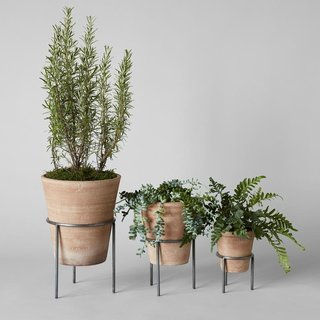Atuto Studio Planter, Whitewash