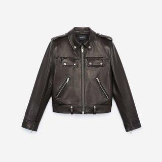 The Kooples Black Biker Jacket