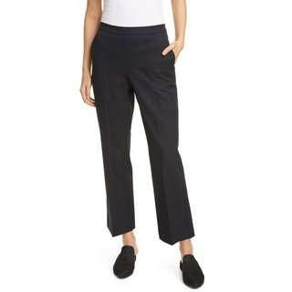 Eileen Fisher High Waist Stretch Organic Cotton Pants