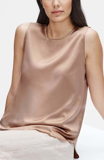 Eileen Fisher Stretch Silk Tank
