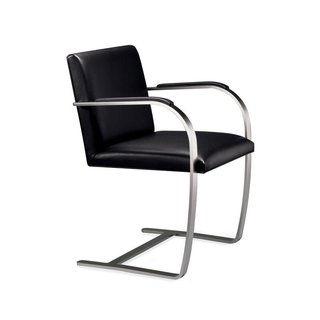 Knoll Brno Flat Bar Chair With Armpads