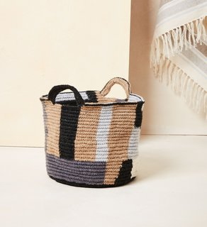 MINNA Blocks Basket Medium
