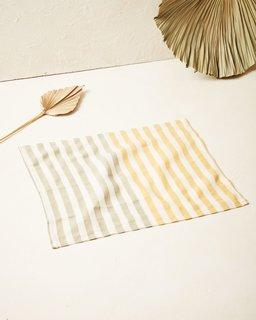 MINNA Stripe Placemat Dandelion
