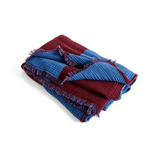 HAY Crinkle Stripe Throw