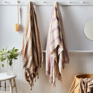 House No. 23 Handwoven Turkish Beach Towel