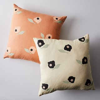 Caroline Z. Hurley Poppy Pillow