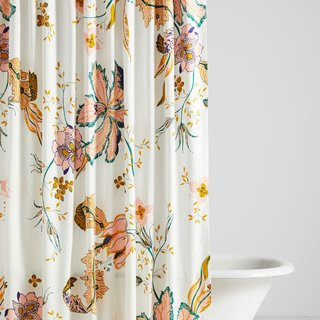 Anthropologie Porte Bonheur Shower Curtain