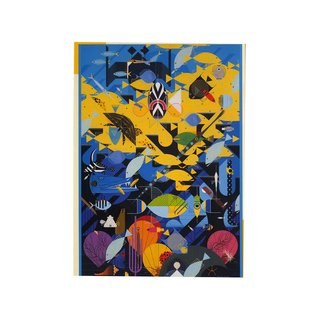 Charley Harper Coral Reef 1000-Piece Puzzle