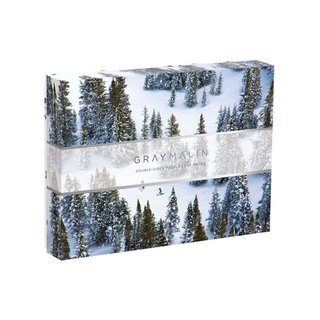 Galison Gray Malin The Snow Double Sided 500-Piece Puzzle