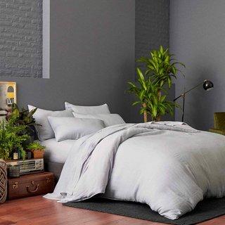 nội thất phòng ngủ Khăn trải giường bằng vải lanh Brooklinen