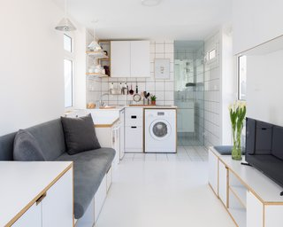 A Delightfully Simple Micro-Flat in Beirut Inspires Calm