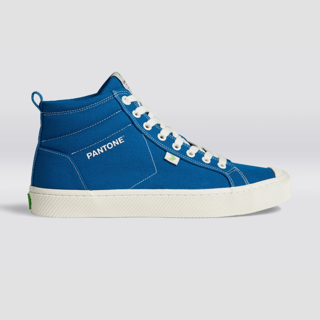 Cariuma OCA High in Pantone Classic Blue Canvas