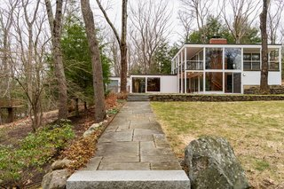 """The Midcentury Modern Stunner From """"Knives Out"""" Lists for $1.4M"""