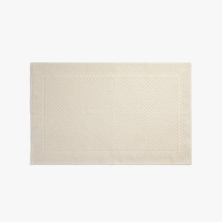 Parachute Textured Border Bath Rug