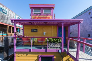 This Vibrant Two-Story Houseboat Is Up for Grabs in Sausalito for $1.33M