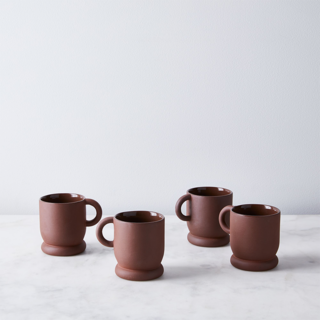 Hawkins New York Terracotta Mugs (Set of 4)