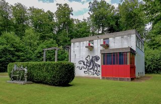 A Converted Boiler Room  Designed by Le Corbusier Asks $450K in France