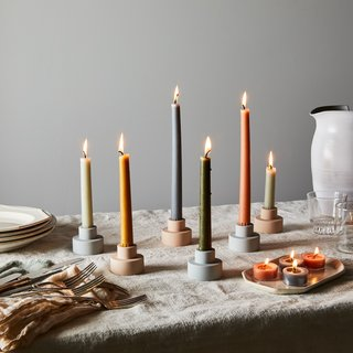Blomus Modern 2-in-1 Silicone Candle Holder Trio