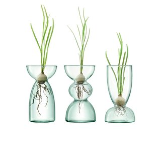 LSA Canopy Recycled Glass Vase Collection