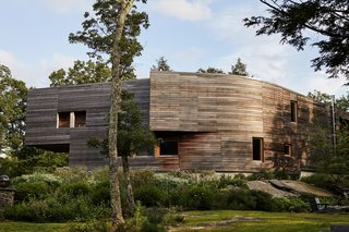 A Prefab Passive House Takes Root in the Catskills