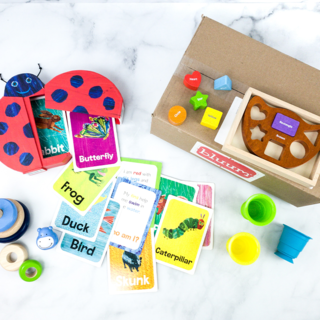 Bluum Baby, Toddler, and Parent Subscription Box