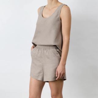 Cultiver Piper Linen Short - Clay