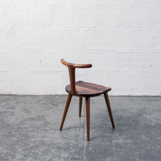 Fernweh Woodworking Walnut Oxbend Chair