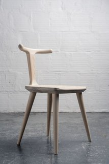 Fernweh Woodworking Oxbend Chair - White Ash
