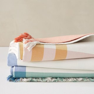 West Elm Organic Double Woven Go-Everywhere Blanket