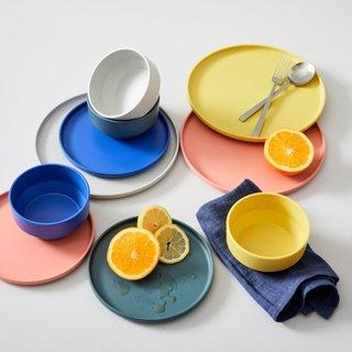 West Elm Modern Melamine Dinnerware