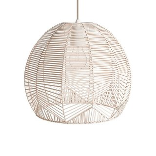 Urban Outfitters Geometric Rattan Pendant Light