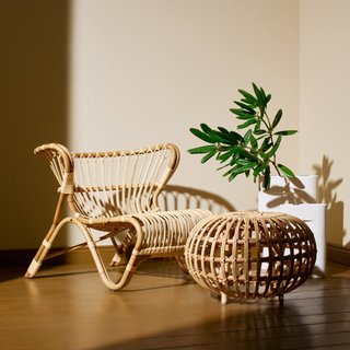 25 Rattan Furnishings to Give Your Home That Jungle Book Vibe