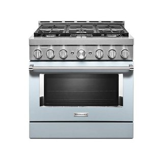 KitchenAid 36'' Smart Commercial-Style Gas Range With 6 Burners