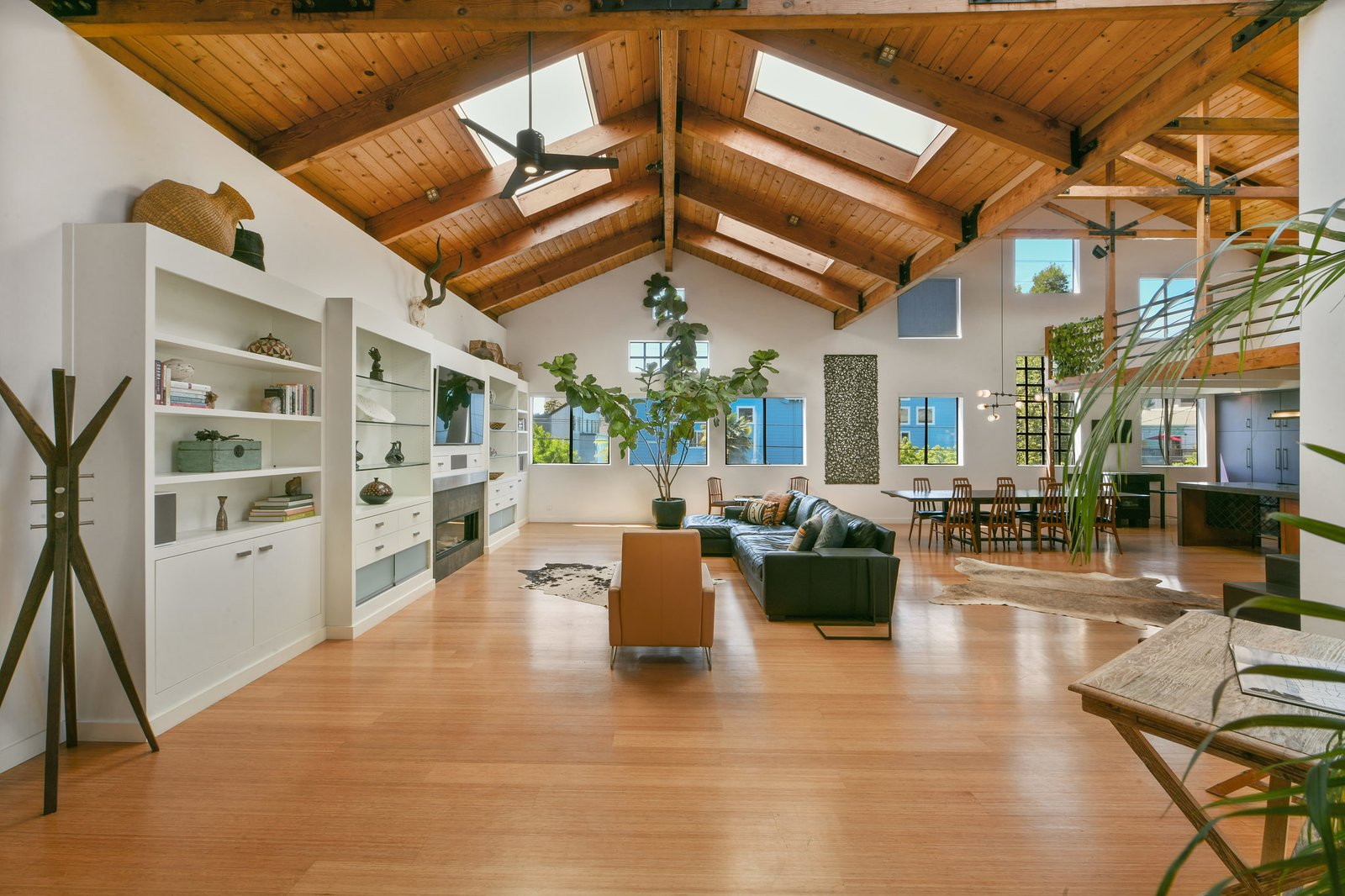 Photo 1 of 16 in Spend Your Days Working From Home in This Handsomely Renovated Oakland Loft for $1.2M