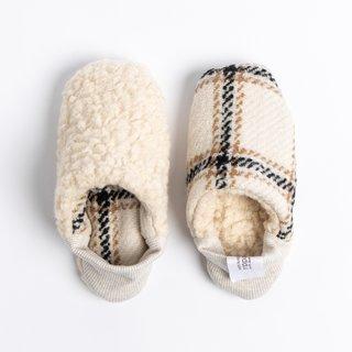 TopDrawer Merippa Japanese House Shoes, Plaid