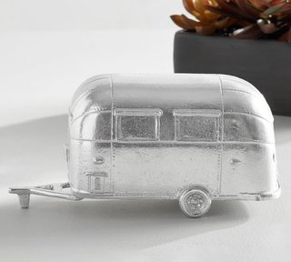 Pottery Barn x Airstream Aluminum Figurine