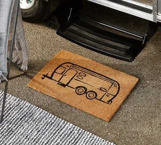 Pottery Barn x Airstream Icon Doormat