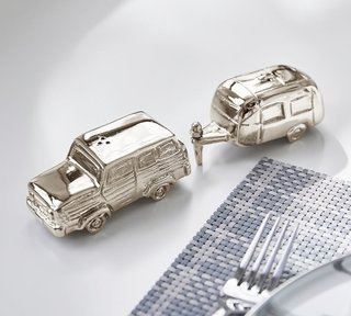 Pottery Barn x Airstream Salt & Pepper Shakers