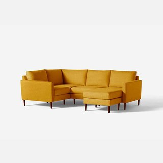 Allform 4-Seat Corner Sectional With Chaise