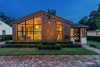 After a Complete Renovation, This Formerly Concrete House Is Up for Grabs for $500K