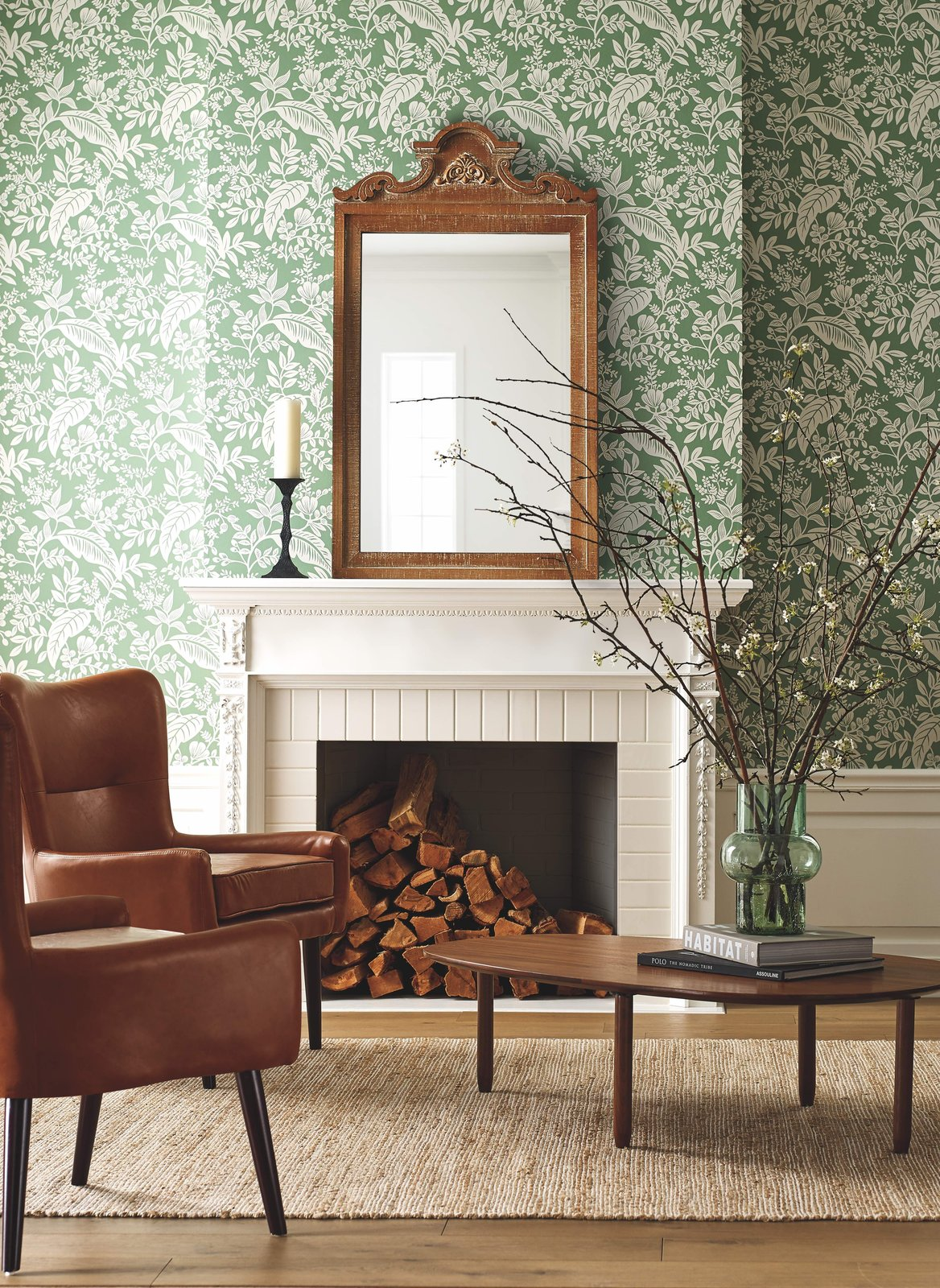 Photo 2 of 3 in Wallpaper Your Way to a Whimsical Home With Rifle Paper Co.'s New Offerings