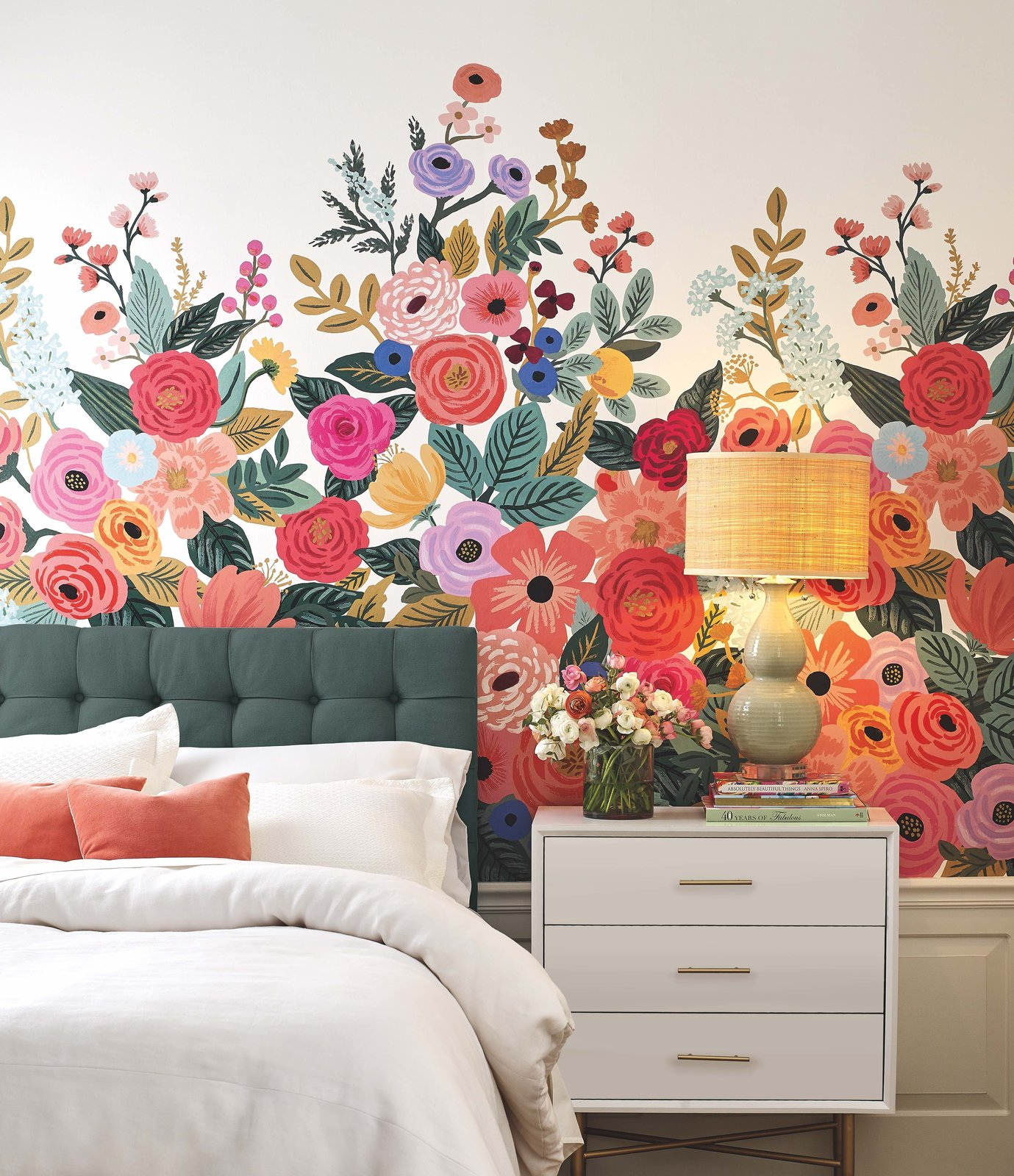 Photo 1 of 3 in Wallpaper Your Way to a Whimsical Home With Rifle Paper Co.'s New Offerings
