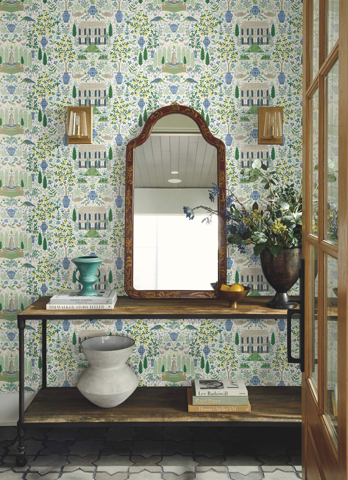 Photo 3 of 3 in Wallpaper Your Way to a Whimsical Home With Rifle Paper Co.'s New Offerings