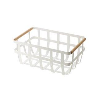 Yamazaki Home Tosca Duel-Handled Storage Basket