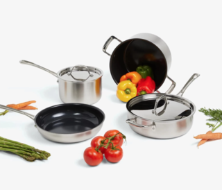 Italic Zest 7-Piece Ceramic Cookware Set