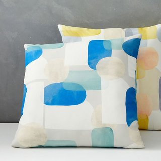 West Elm Outdoor Overlapping Shapes Pillow