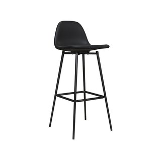 Queer Eye Coltin Upholstered Mid-Century Modern Bar Stool