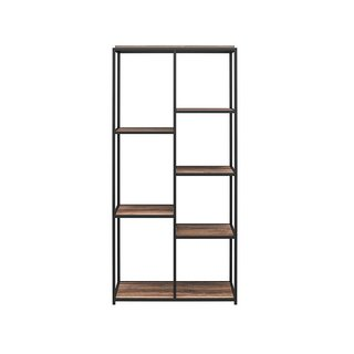 Queer Eye Quincy 5 Shelf Transitional Bookcase
